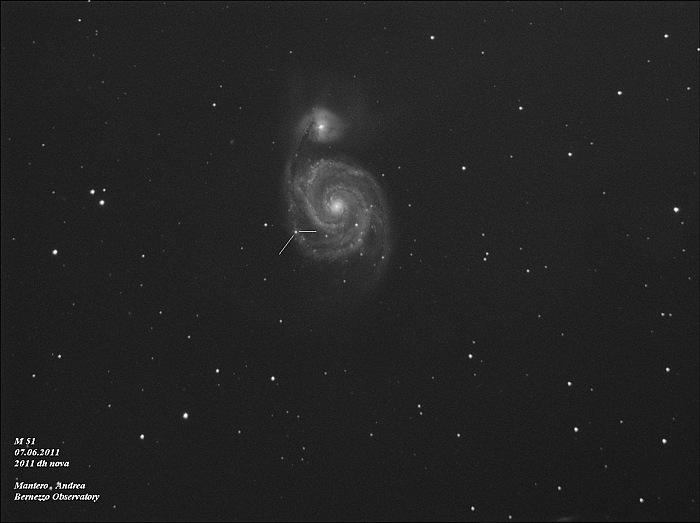 Supernova M51